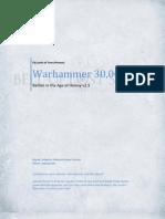 Codex - Warhammer 30k. Horus Heresy