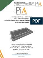 MEMORIAS DE CALCULO DISEÑO ESTRUCTURAL LOSA TRANSFORMADORES BELEN FATIMA.pdf