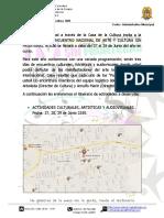 Programacion 4to Encuentro Nacional de Arte y Cultura 2015