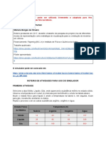 Roteiro - simulador Furlani