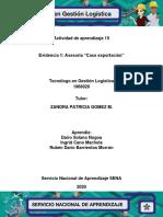 Activ 15-Evidencia 1 Asesoria Caso exportacion