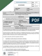 Reunión Inducción directivos - IED VICTOR MANUEL LONDOÑO