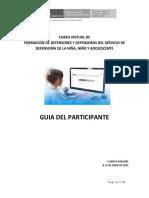 Guía del Participante Curso virtual de Formacion de Defensores  8-14 junio 2020