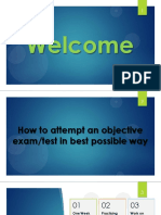How to attempt Test PPT
