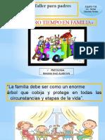 NUESTRO TIEMPO EN FAMILIA 1° escuela de padres