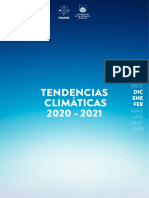 Tendencias Climaticas Dic Ene Feb 2020 2021