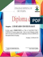 fondo diploma vu