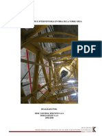 Informe RISKO SAS - Aval Bimensual de la torre grúa POTAIN MC 85 Enero 2020