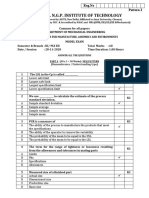 CC5291 DESIGN FOR MANUFACTURE ASSEMBLY AND ENVIRONMENTS MCQ