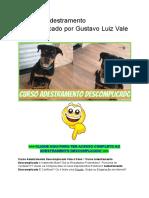 ➜ Curso Adestramento Descomplicado por Gustavo Luiz Vale a pena