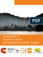 A Handbook of Khutba on Gender and Reproductive Health - English