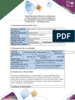 Guía de actividades y rúbrica de evaluación - Escenario 5 - Decálogo ético