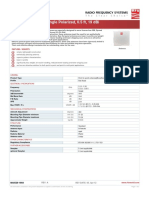 Data Sheet antena MA 0528-19AN