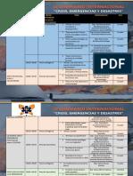 AGENDA III SEMINARIO INTERNACIONAL SEPACED 2020