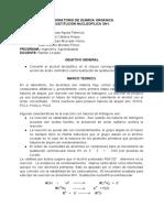 INFORME-SUSTITUCIÓN NUCLEOFÍLICA SN1