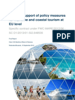 Study in support of policy measures for maritime and coastal tourism at EU level