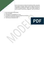 Modelos de Termos de Execução descentralizada