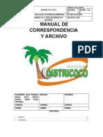 MANUAL DE CORRESPONDENCIA Y ARCHIVO DISTRICOCO (1)