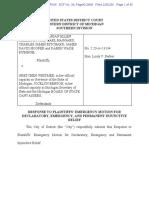 Detroit responds to Sidney Powell suit