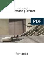 Manual Tecnico de Instalacao Portobello - Filetes Metalicos e Listelos