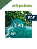 Manual de Productos Blen