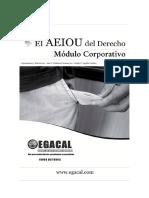Calderon Ana Y Aguila Guido - El Aeiou Del Derecho - Modulo Corporativo