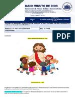 GUÍA EDUCATIVA DE RELIGIÓN-OCTUBRE