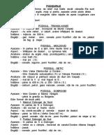 Podisurile - schema lectiei