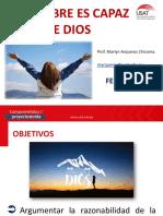 Sesión 02 -EL HOMBRE ES CAPAZ DE DIOS