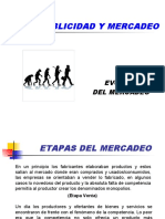 EVOLUCION DEL MERCADEO