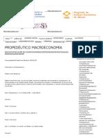 Propedéutico Macroeconomía