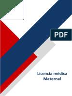 Licencias medicas -LM maternal