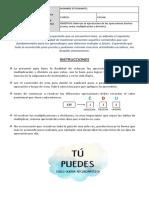 Guía Reforzamiento operatoria 5° Y 6°