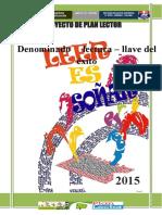 PROYECTO DE PLAN LECTOR 2015