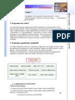 programme architecturale