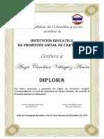 Diploma Amarillo