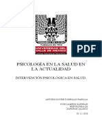 Ensayo Arturo Psc. de La Salud