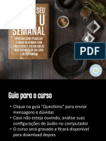 Vida organizada - organize seu menu semanal