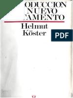 INTRODUCCIÓN AL NUEVO TESTAMENTO Helmut Koster ( PDFDrive )