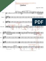 DM 3 Ecriture L1 - Quatuor Richter CORRIGÉ