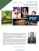Programación cultural DICIEMBRE- NAVIDAD 2020