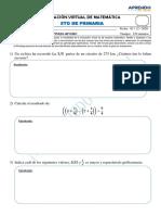 EXAMEN MATEMÁTICA 5TO GRADO - Diciembre.pdf