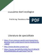 CURS_5_6_Evaluarea starii ecologice