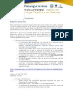 Programación de actividades 0104 2021-1
