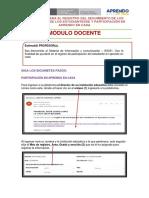 Protocolo_ Docente seguimiento de aprendizaje y participacion del estudiante en aprendo en casa 01-10-2020