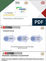 Presentación Precisiones y Normativa Webinar 18052020 Versión Final