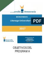 NORMAS DE CONVIVENCIA - DENDE UNIV 2017