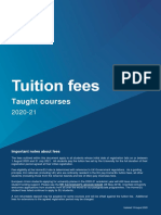 Tuition fees for Taught Courses 2020 2021.pdf