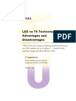 T5 v. LED