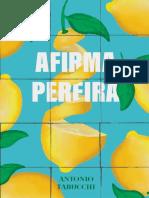 Afirma Pereira – Antonio Tabucchi